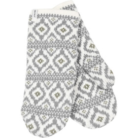 Devold Ona - Guantes Mujer - gris/blanco